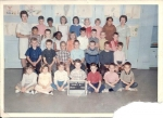 First Grade Class - 1963  Miss Randall (aide)  In this photo: Karen Brown, Drew Papio, Chuck Wiebe, David Weimer, Kathy