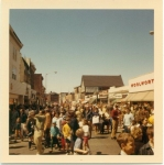 Note Jim Lawrence lower right hand corner!  Another 1969 event in Summit- this time looking down Springfield Avenue West