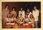 Junior Prom - May 1975 - photo courtesy of Bruce Atkinson/Facebook.  Right to left: Bruce Atkinson, Linda Orr (New Provi
