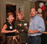 Holly Penwell Hess, Kathy Lovett Loeb and John Combias