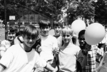 Picture taken on 'Field Day' 1969. Left to Right: Doug Hall, Victor Angermueller,Craig Daugherty, Chuck Wiebe, Gilbert